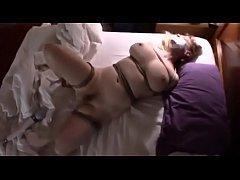 White Wife Big Tits Tied and Made to Cum - MORE...
