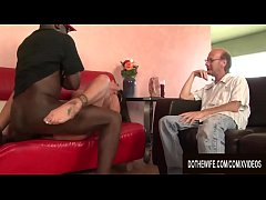 Black Stud Satisfies Cuckolding Wife Nikita Den...