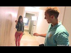 MAGMA FILM Casting a shy babe