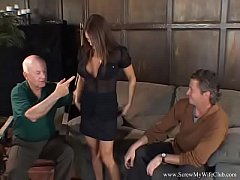 Wild Ride For Swinger Brunette