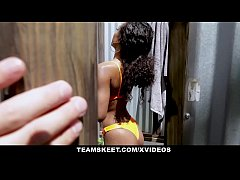 StepSiblings - Soft Ebony Teen Teases Stepbros ...