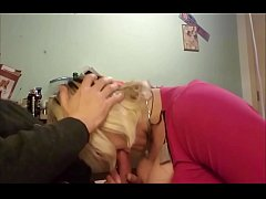 Big cock gets deep throated by TS Natasha Rose