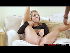 Teen sucks bbc before stepmom arrives