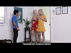 StepSiblings - Nosy Stepbro Fucks Sisters For S...