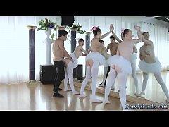 College blond threesome anal Ballerinas