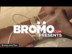 Ashton McKay with Beau Warner Billy Santoro James Edwards Jordan Levine at Raw Tension Part 4 Scene 1 - Trailer preview - Bromo