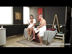 Private.com - Curvy Chloe Lamour Milks Cock On ...