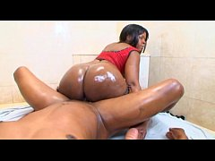 Wet Juicy Butt Bouncing on BBC!!!