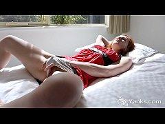 Yanks Charlotte Webbe Masturbates Her Natural P...