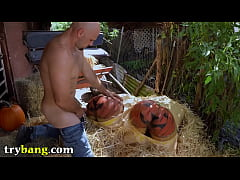 TRYBANG.COM - Pumpkin Booty Patch With Rose Mon...