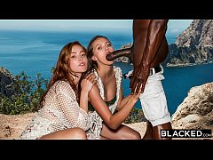 BLACKED Best Friends Jia Lissa And Stacy Cruz S...