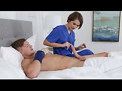 Nurse Stepsis Caught Her Brother Masturbating u...