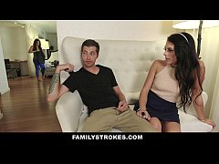 FamilyStrokes - Step-Siblings Caught Fucking By...