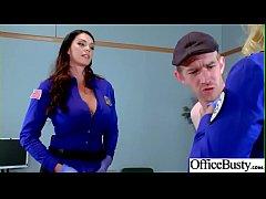 Office Sex With Sluty Big Juggs Teen Girl (Alis...