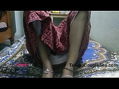 Telugu desi indian wife late night homemade fuc...