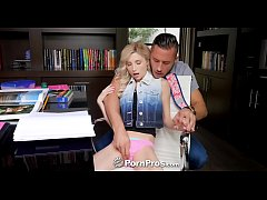 PORNPROS Blonde petite Piper Perri fucked and s...