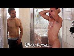 HD - ManRoyale Boyfriends share a shower before...