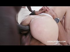 Pinky Breeze Vs 4 BBC Balls Deep Anal and DP, G...