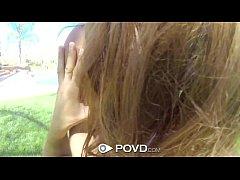 HD POVD - Keisha Grey loses rips off her bikini...