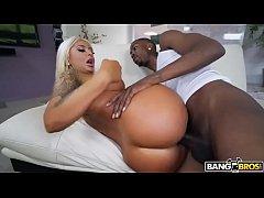 Brandi Bae getting pussy plowed by huge black cock