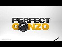Gonzo sex with Stefani - rough hardcore anal se...