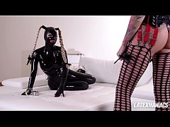 thumb latex lucy s panked and humiliated by dominatrix kayla green