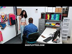 ShopLyfter - Tiny Cute Teen Gets Fucked Rough F...