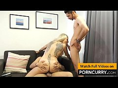 PORNCURRY Indian Threesome Sex First time in Hi...