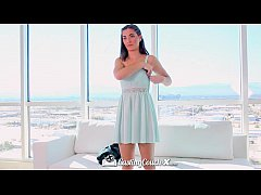HD CastingCouch-X - Molly Jane gets her big tit...