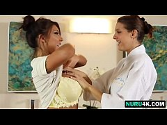 August Taylor nude body massage service to hot ...