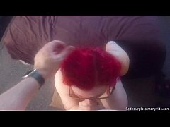 Tina Danger, Chubby redhead with big tits and g...