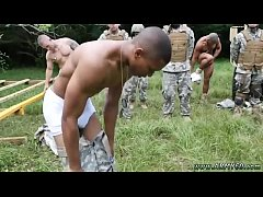 Hot british military guys gay Jungle smash fest