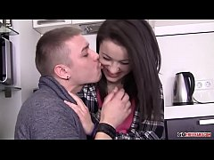 Izi Nikolas Sex In The Kitchen HD