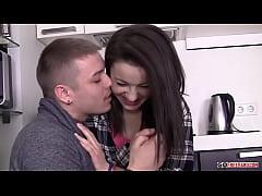 Izi Nikolas Sex In The Kitchen HD