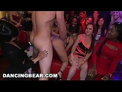 DANCING BEAR - J-Mac Slings Dick At CFNM Party!