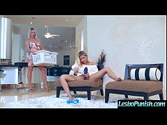 (Brooke Paige & Marsha May) Lez Girls In hard P...