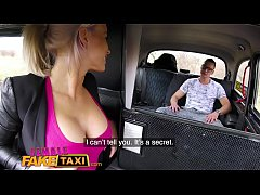 Female Fake Taxi Bored busty driver swaps fare ...