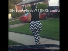 Epic SSBBW Thick Thigh Walk Away