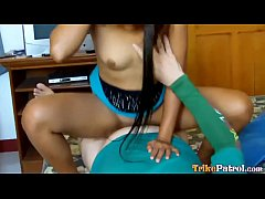 Trike Patrol - Sexy Filipina gets facial and cr...