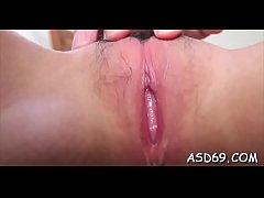 Cute thai bimbo enjoys a palpitating cock in th...