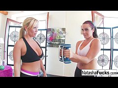 Natasha Nice and Austin's Workout
