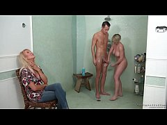 Download  3GP - My stepmom and her old friend want my dick! - Erica Lauren and Dee Williams
