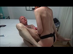 Ulf Larsen, 59, fucked by the whore Angel, 21, ...