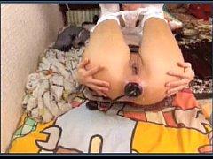 HotKinkyJo Anal Dildo Queen 3: huge toys, deep ...