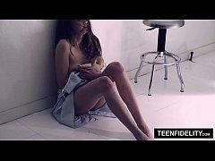 thumb teenfidelity  elena koshka squirts on hard cock