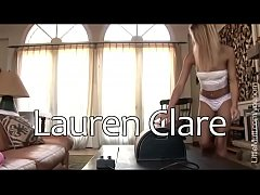 Lauren Clare - 18 year old Sybian Victim