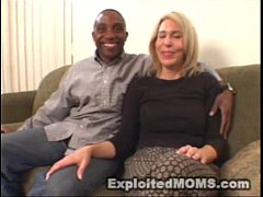 Amateur Mom decides to take on a Big Black Cock...