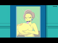 The Simpsons Porn : Edna's Classroom
