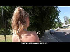 thumb thickumz fit bl  ond babe shakes her ass all o s her ass all ov her ass all ove