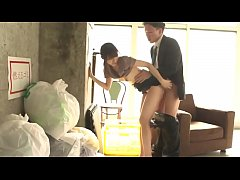 Hot Asian Cleaner Girl Fucked